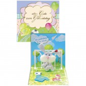 Glükwuschkarte für Kinder RZ963d