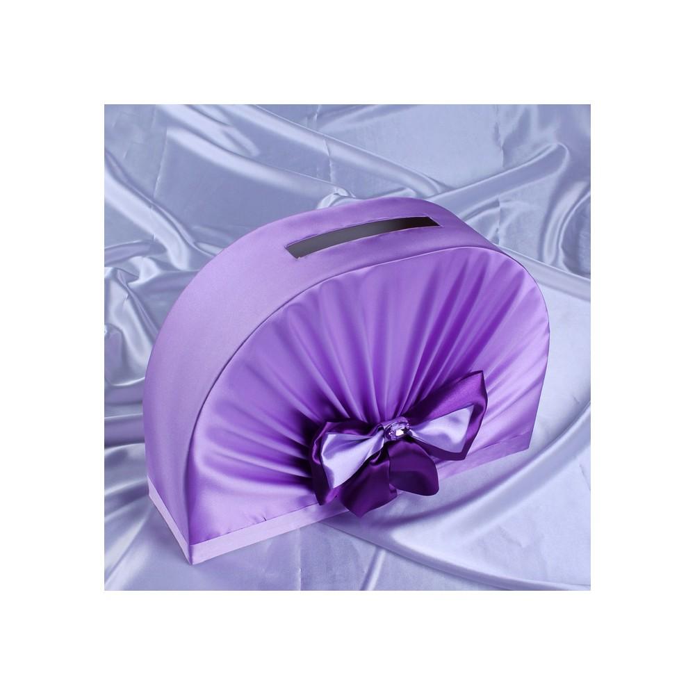 Geldbox Fur Hochzeitskarten Flieder Oder Kristallblau