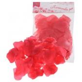 епестки роз, цвет - красный, набор 150 шт