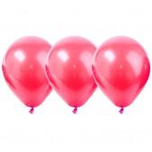 Воздушные шары, цвет розовый, 25 см, 10 шт.